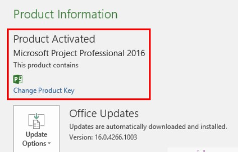 HOW TO ACTIVATE MICROSOFT PROJECT WITHOUT PRODUCT KEY