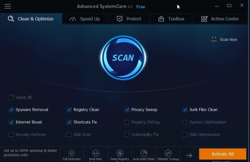 Advance SystemCare Pro 12.4.0 Crack
