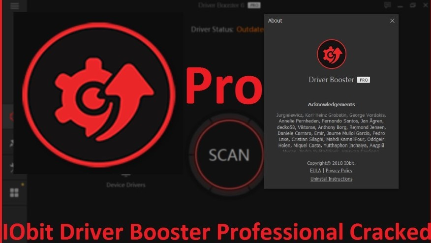 IObit Driver Booster PRO 6.4.0 License Key For Free (2019)