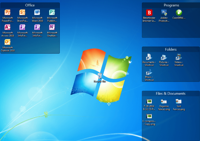 Stardock Fences 3.0.9.11 Crack + Product Key For Windows 7, 8, 8.1