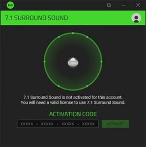 Razer Surround Pro 7.2 Crack + Activation Key [2021]